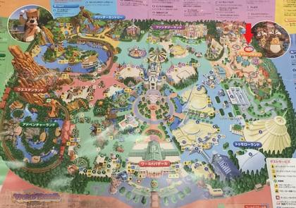 東京ディズニーランド地図.JPG